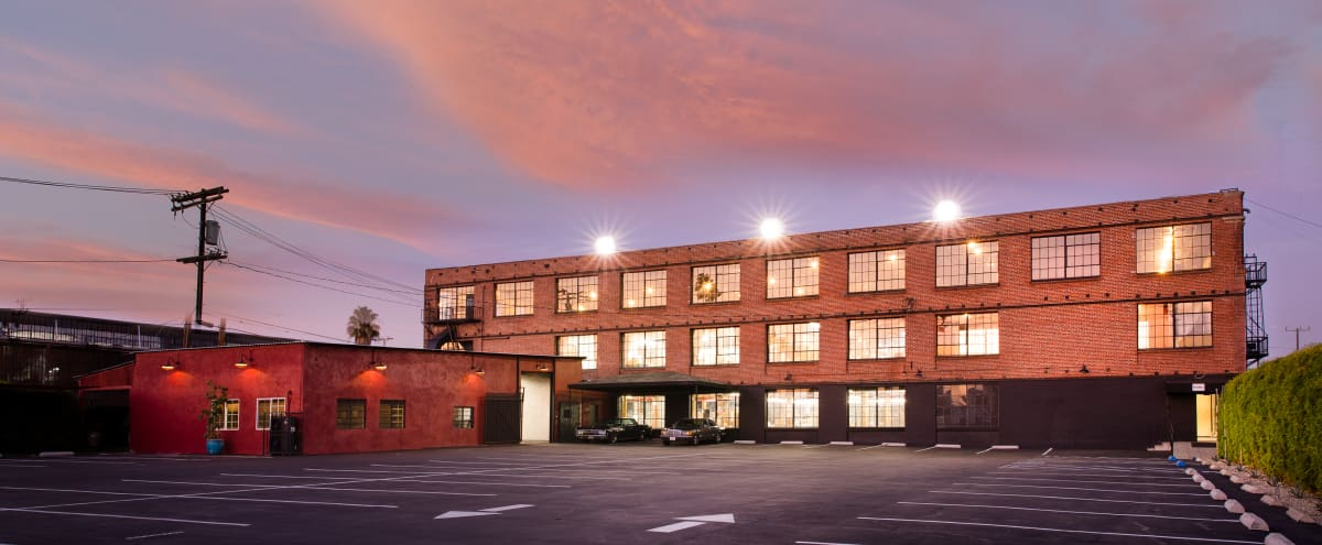 Three Story Entertainment, Event, Meeting , Movie Production Warehouse Complex w/ Rooftop and Downtown Skyline View plus 30+ sets on sight in Los Angeles Hero Image in South Los Angeles, Los Angeles, CA