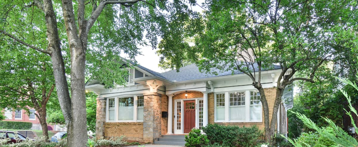 Intown Dream House with Outdoor and Indoor Space in Atlanta Hero Image in Poncey-Highland, Atlanta, GA