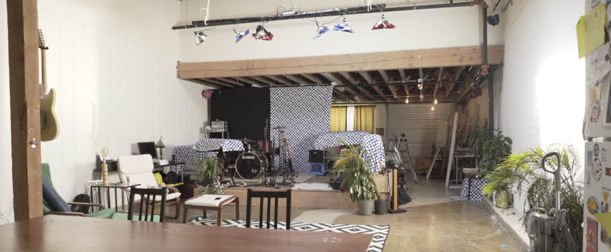 One-Stop Shop Artist Loft for Filming, Concerts, and Events near Arts District! in Los Angeles Hero Image in Central LA, Los Angeles, CA