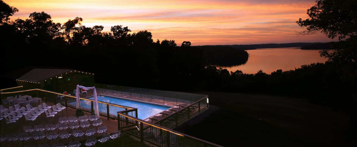 Bright, Modern, Lake House with Swimming Pool in Mountain Home Hero Image in undefined, Mountain Home, AR