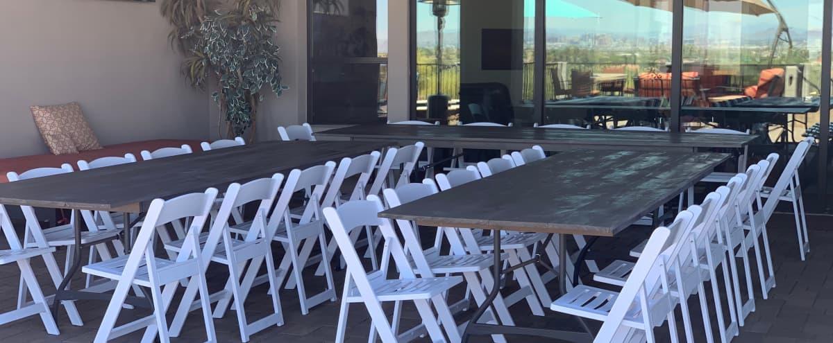 Luxury Outdoor Space with Sweeping Skyline Views in Phoenix Hero Image in South Mountain Village, Phoenix, AZ