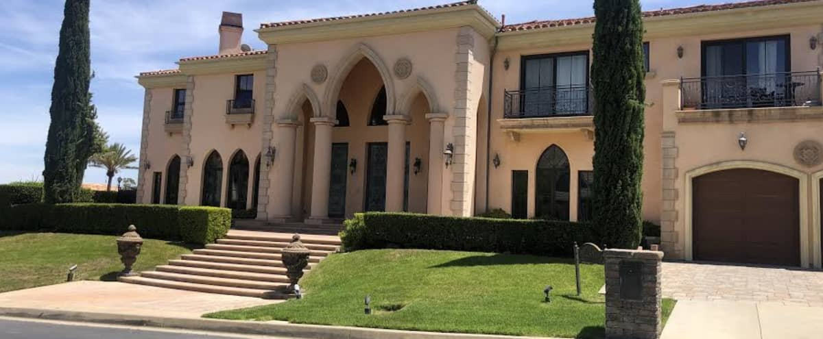 Mediterranean/French Style Estate in Chatsworth Hero Image in undefined, Chatsworth, CA