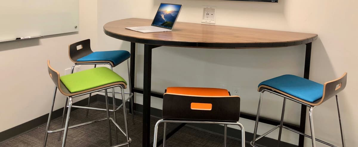 4 Person Meeting Room in Creative Space by The Battery Atlanta in Smyrna Hero Image in undefined, Smyrna, GA