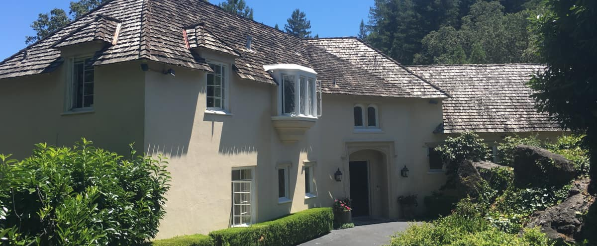 Romantic and Sophisticated European Chateau in Kentfield Hero Image in undefined, Kentfield, CA