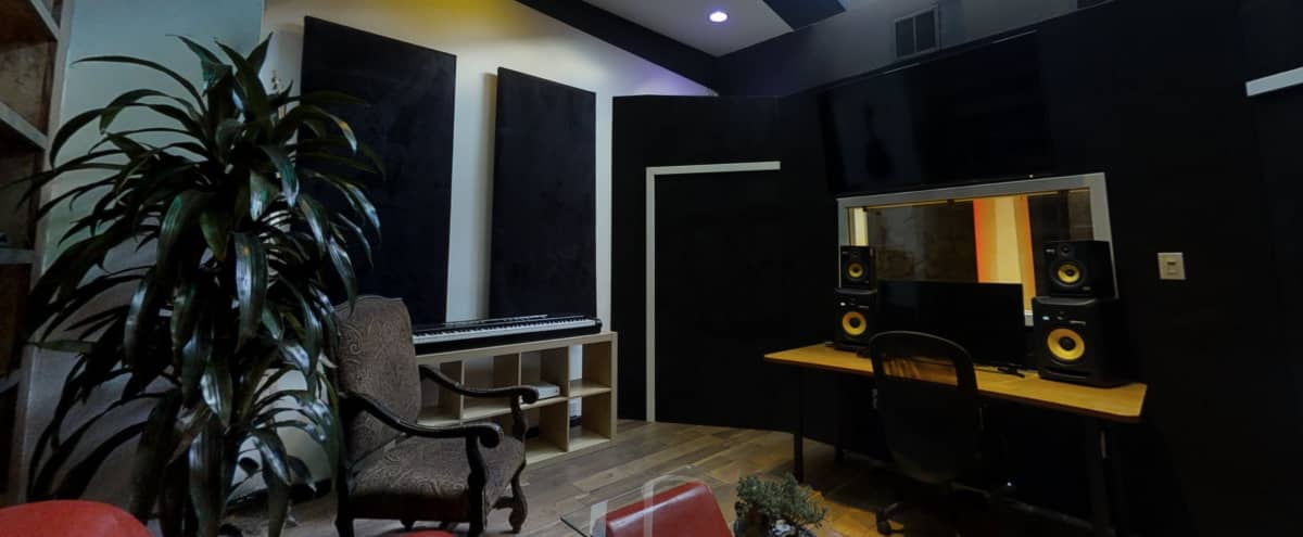 Recording studio skylit, sound-proof recording live-room located Hollywood,CA in LOS ANGELES Hero Image in Central LA, LOS ANGELES, CA