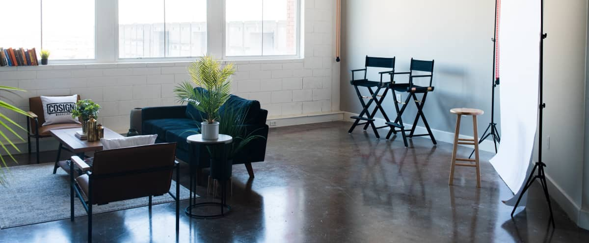 Downtown Loft Studio with Amazing Natural Lighting, Perfect for Photography & Video in Dallas Hero Image in Cedars, Dallas, TX