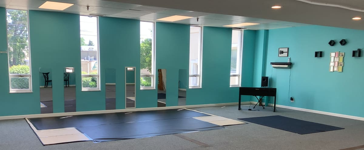 Bright and Roomy Downtown Dance Studio in Akron Hero Image in Cascade Valley, Akron, OH