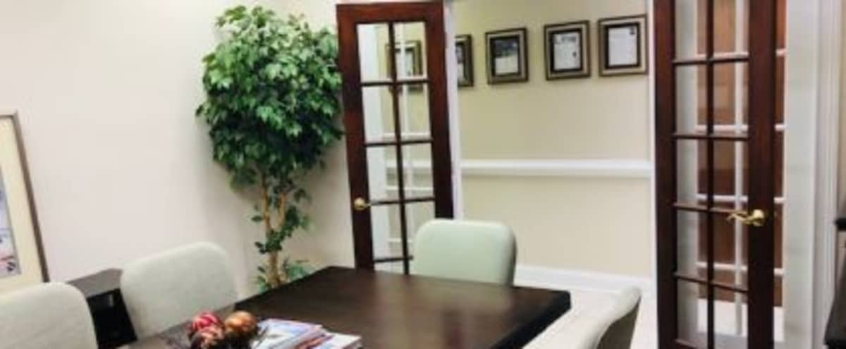 Conference Room for 6 near Ballantyne in Charlotte Hero Image in Carmel, Charlotte, NC