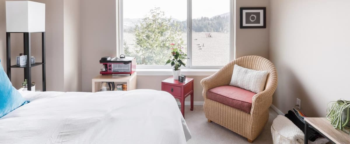 Cozy Natural Light Space with Mountain Views + Large East Facing Window in Issaquah Hero Image in Talus, Issaquah, WA