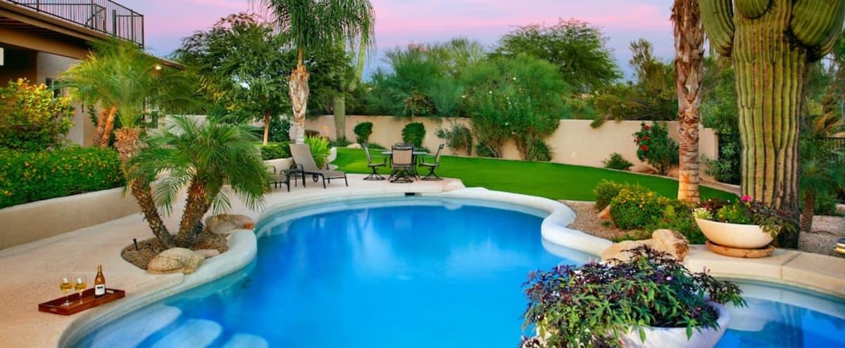 Family Friendly Scottsdale Retreat in Scottsdale Hero Image in Sonoran Crest, Scottsdale, AZ