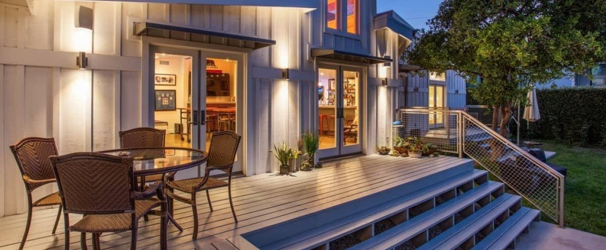 Contemporary Ranch Home on .5 Acres with Professional Style Sports Bar in Tarzana Hero Image in Tarzana, Tarzana, CA