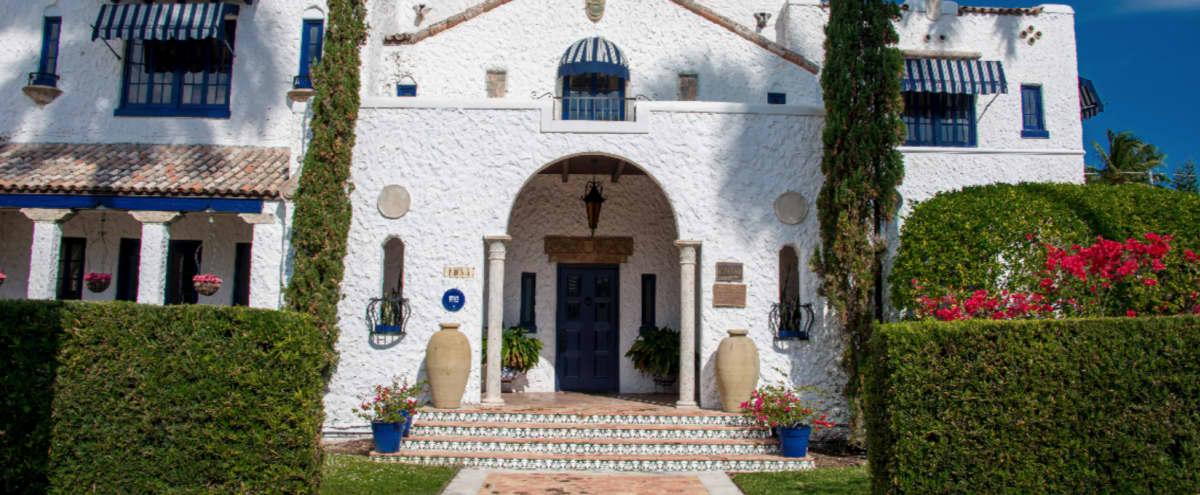 Historic 1920's Spanish Moorish Mansion in Hollywood Hero Image in Hollywood Lakes, Hollywood, FL
