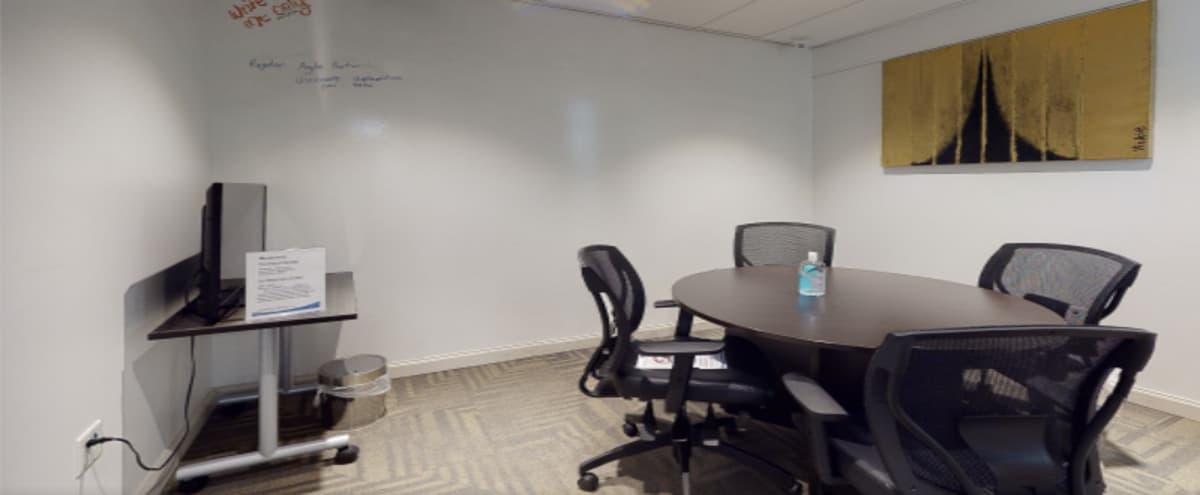 Private Meeting Room w/ TV + Writable Wall - Toronto in Toronto Hero Image in Downtown Yonge, Toronto, ON