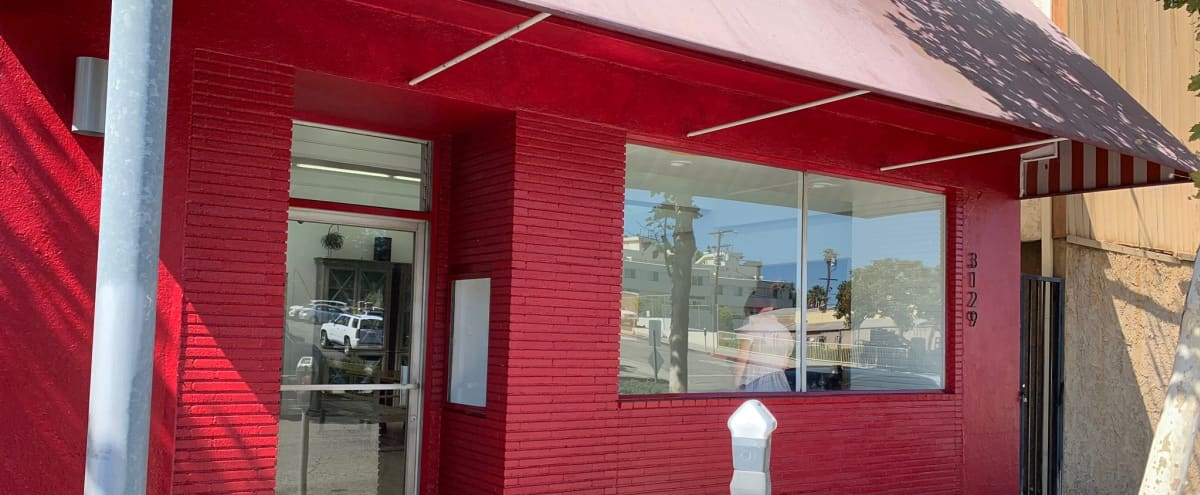STOREFRONT STUDIO SPACE with kitchen and large outdoor patio in Santa Monica Hero Image in Pico, Santa Monica, CA