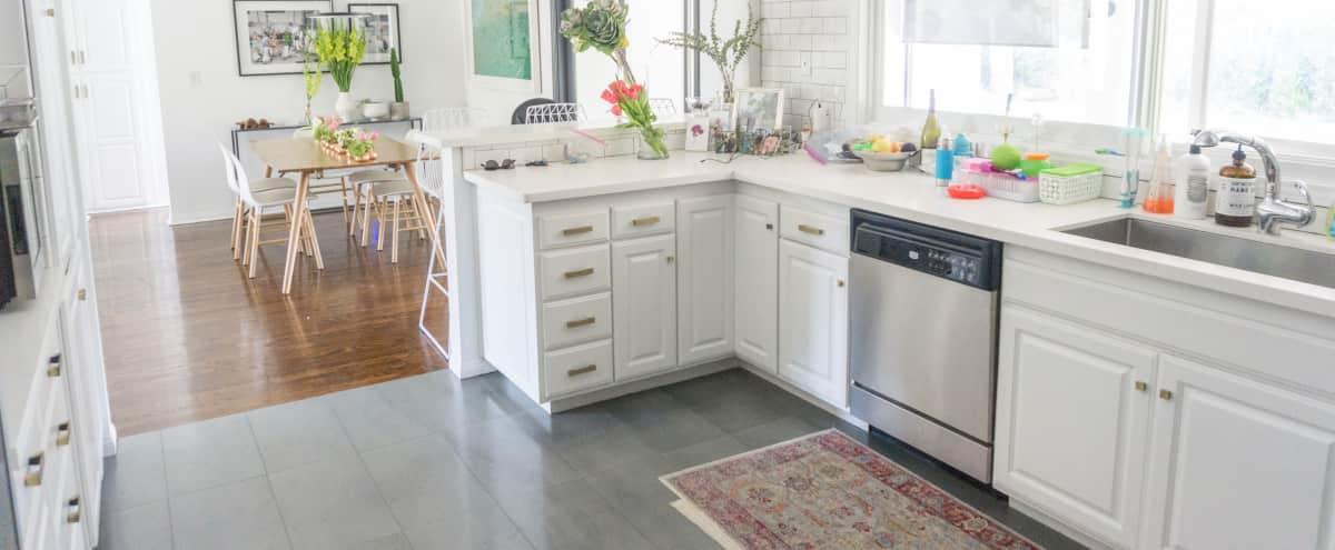 Cozy, white and bright modern family home. in Encino Hero Image in Encino, Encino, CA