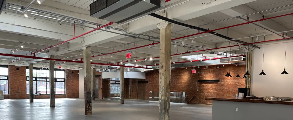 Exposed Brick, Newly Renovated, Large Ceilings Event Space in Brooklyn Hero Image in Greenpoint, Brooklyn, NY
