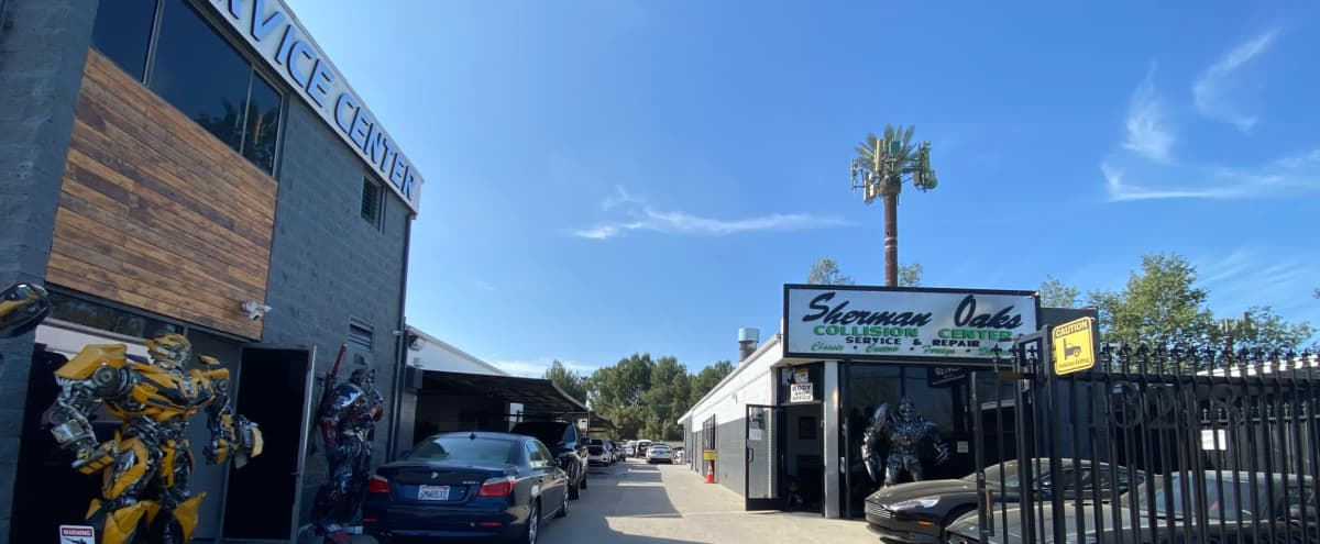 Modern Body Shop with Life-Sized Robots in sherman oaks ca Hero Image in Sherman Oaks, sherman oaks ca, CA