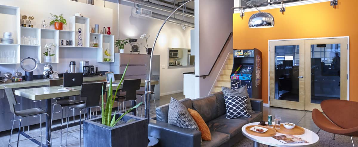 Multi-Level Production + Post Production Studio in Industrial Chic Building - SOMA in san francisco Hero Image in South of Market, san francisco, CA