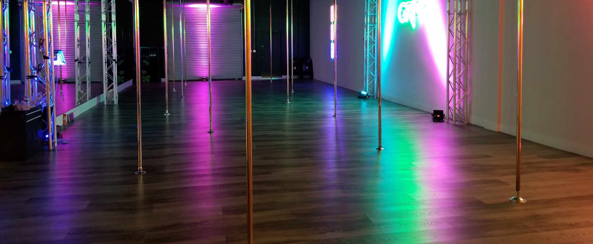 Pole Dance Studio with Neon Signs and Rockin' Vibes in Westlake Village Hero Image in undefined, Westlake Village, CA