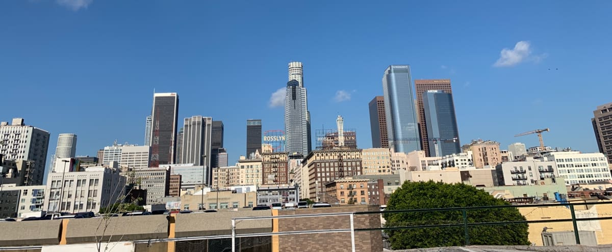 DTLA 1908 Built Brick Building Private Rooftop with 360 degree Downtown Views in Los Angeles Hero Image in Downtown, Los Angeles, CA