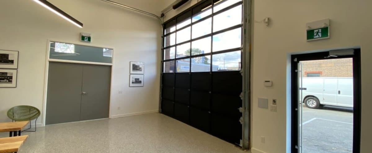 Modern Open Concept Studio w/ Garage Door in Toronto Hero Image in The Junction, Toronto, ON