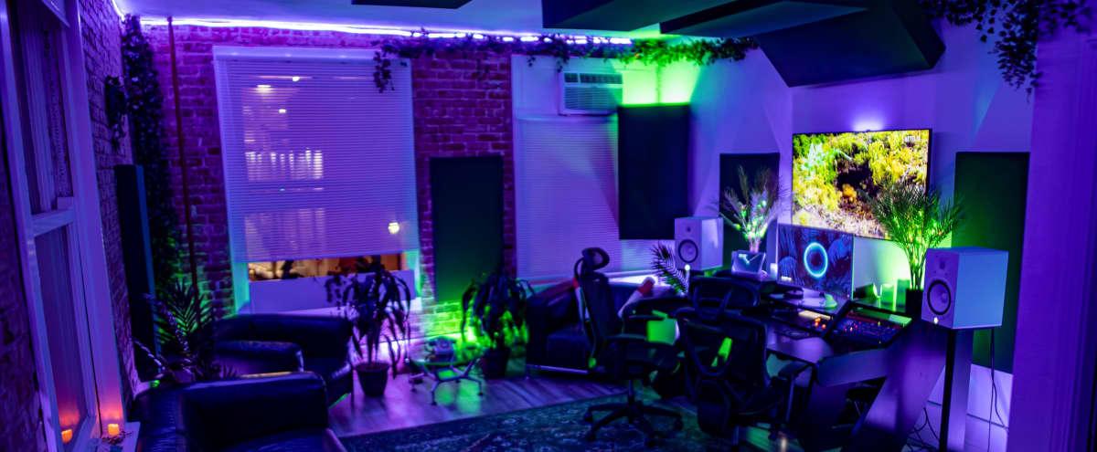 LA Spacious Recording Studio with Natural Plants/Brick theme in Los Angeles Hero Image in Central LA, Los Angeles, CA