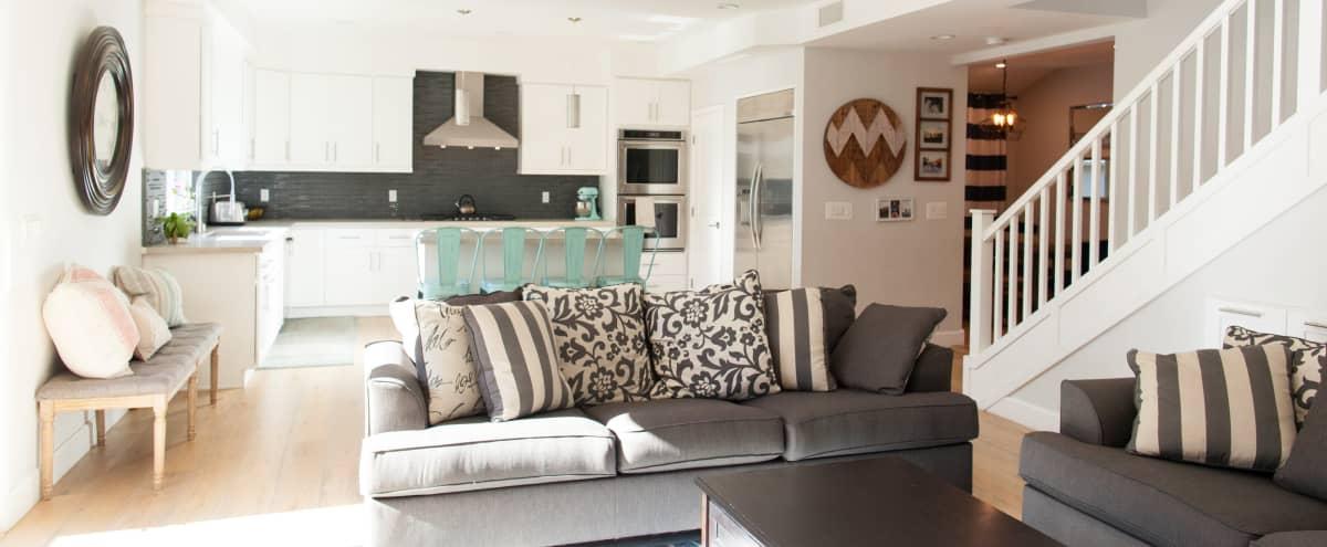 Bright Spacious Craftsman Home with Outdoor Deck in Los Angeles Hero Image in Mar Vista, Los Angeles, CA