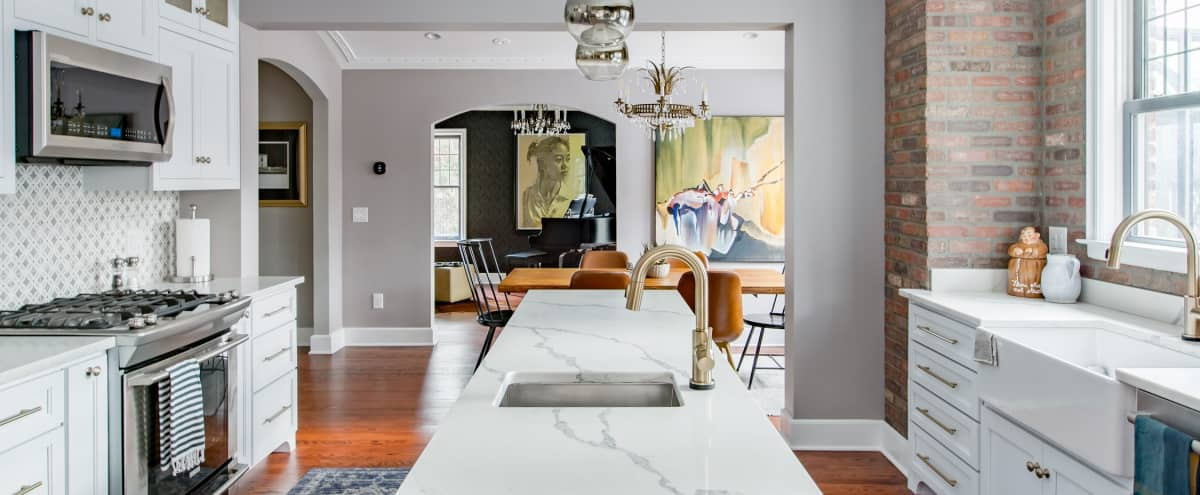 Sophisticated 1920s Historic Large Home in Picturesque Detroit Neighborhood | Perfect for Intimate Events in Detroit Hero Image in Detroit Golf, Detroit, MI