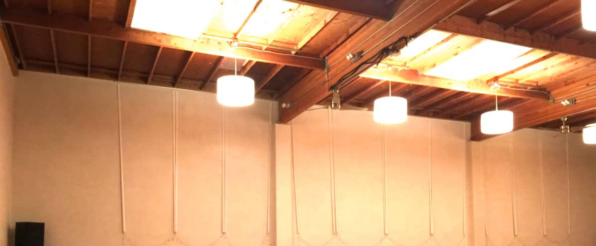 Spacious, Versatile Downtown Studio Space for Productions in San Mateo Hero Image in Central San Mateo, San Mateo, CA