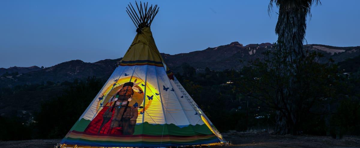 Rainbow Warrior Tipi in topanga Hero Image in undefined, topanga, CA