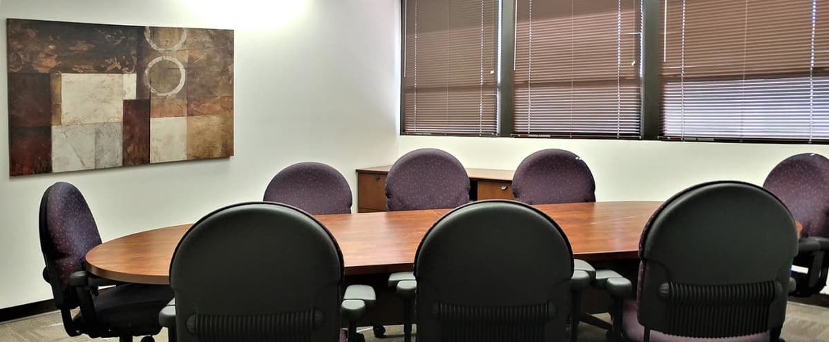 8 Person Conference Room in High-Tech Office Building in Scottsdale Hero Image in South Scottsdale, Scottsdale, AZ
