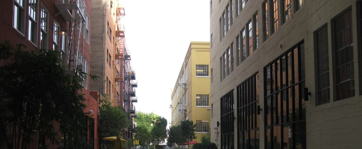 DTLA Fashion District Creative Space In Private Courtyard Setting in los angeles Hero Image in Downtown Los Angeles, los angeles, CA