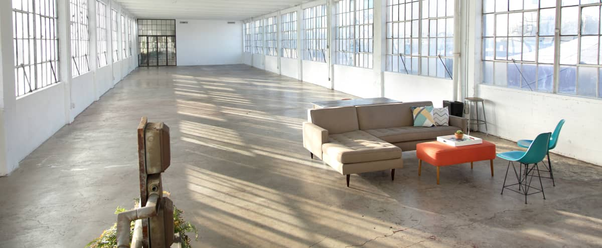 4000+ Square Foot Natural Light Loft Studio in Los Angeles Hero Image in Central LA, Los Angeles, CA