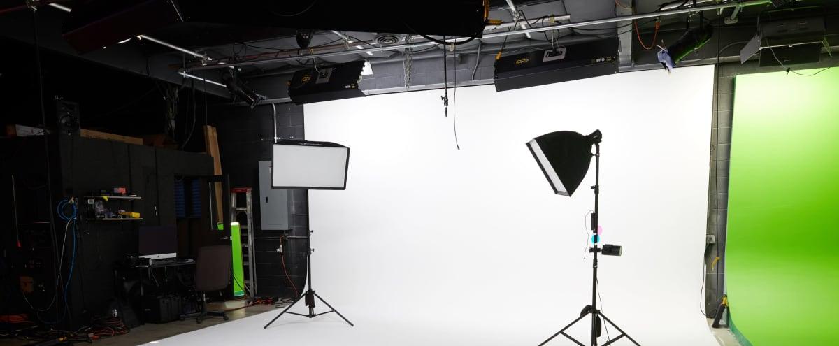Spacious, Pre-lit Photography Studio W/ White Cyc in Van Nuys Hero Image in Van Nuys, Van Nuys, CA