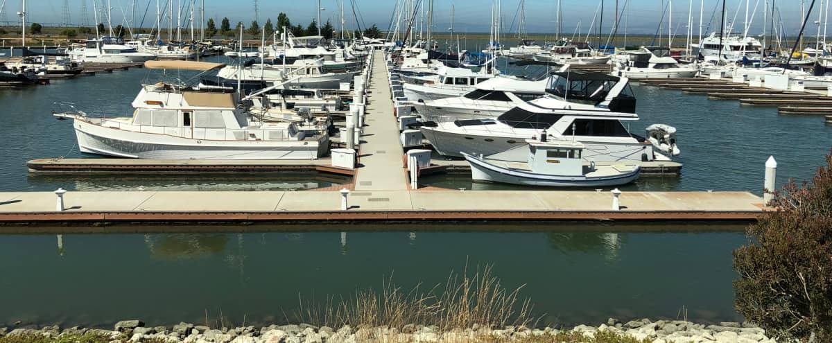 A yacht club over the harbor house with endless views of San Francisco Bay in Redwood City Hero Image in undefined, Redwood City, CA