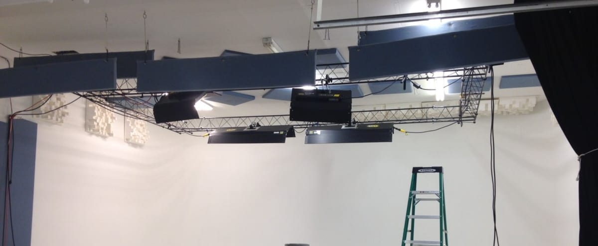 Professional Production Studio with Cyc Wall in Denver Hero Image in Lower Highlands, Denver, CO