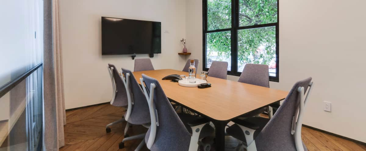 Sophisticated 8-Person Conference Room in San Francisco Hero Image in Pacific Heights, San Francisco, CA