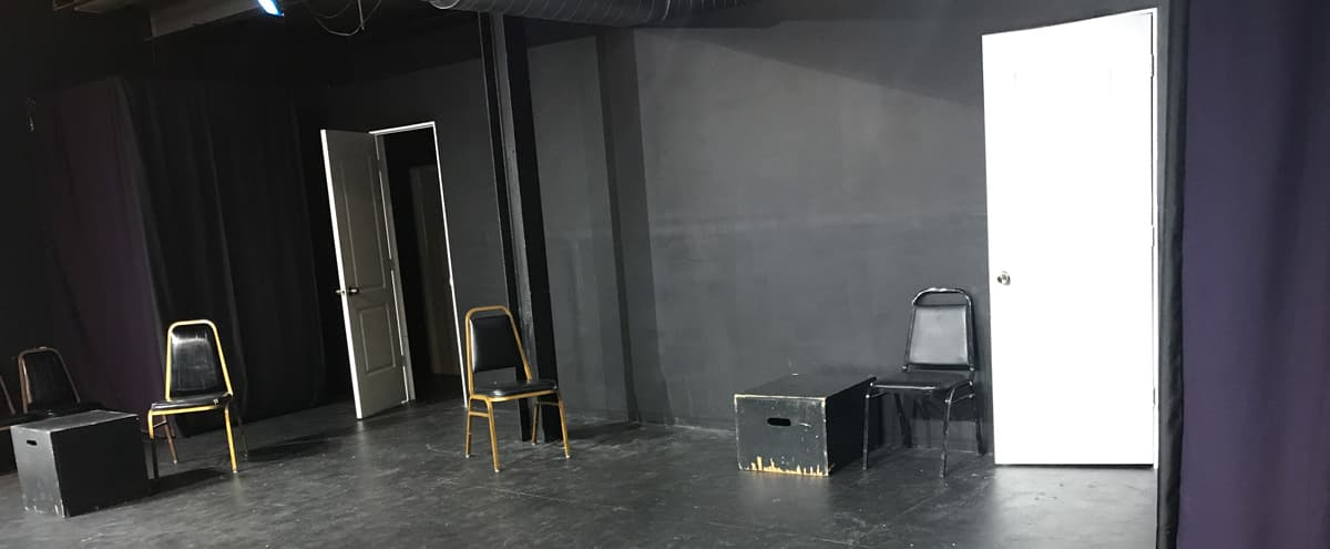 Blackbox Stage for improv, sketch, theater in Chicago Hero Image in North Center, Chicago, IL