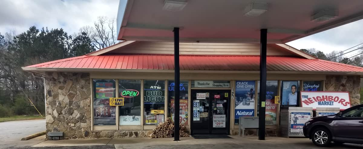 Southern Gas station - Shelter over pumps, full convenient store. in Newnan Hero Image in undefined, Newnan, GA