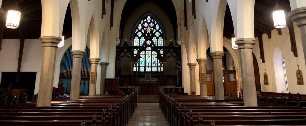 American Gothic Revival Old Church in Baltimore Hero Image in Poppleton, Baltimore, MD