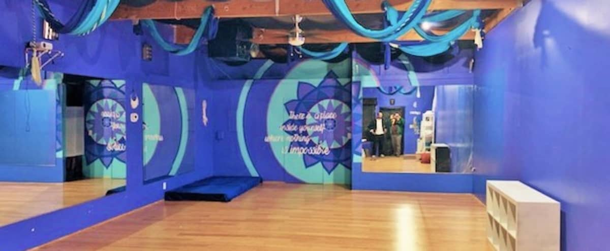 Studio Space for Yoga, Kids Aerial Yoga Birthday Parties, Bachelorette Aerial Parties, Dance, Ballet, Private Instruction, Sound Baths, Encino,CA in Encino Hero Image in Encino, Encino, CA