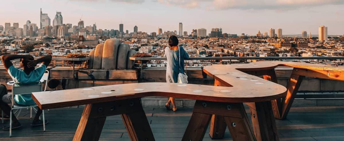 8th Floor Terrace with Sweeping Views    Film + Photo Shoots in Philadelphia Hero Image in East Passyunk Crossing, Philadelphia, PA