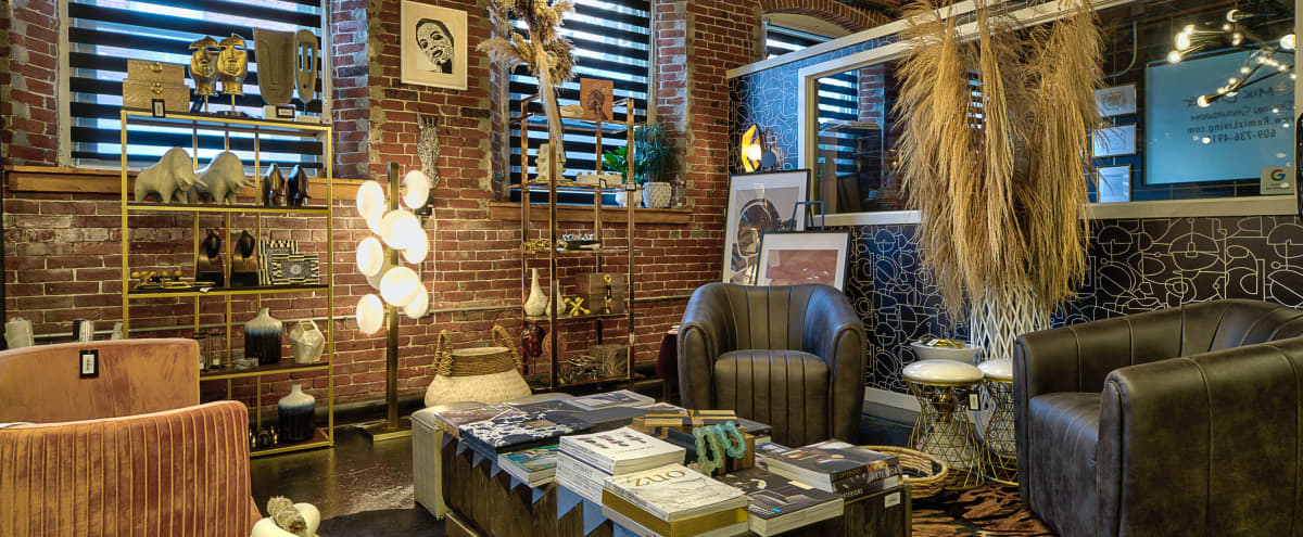 Beautiful Interior Design Showroom intimate meeting space in Philadelphia Hero Image in Frankford, Philadelphia, PA