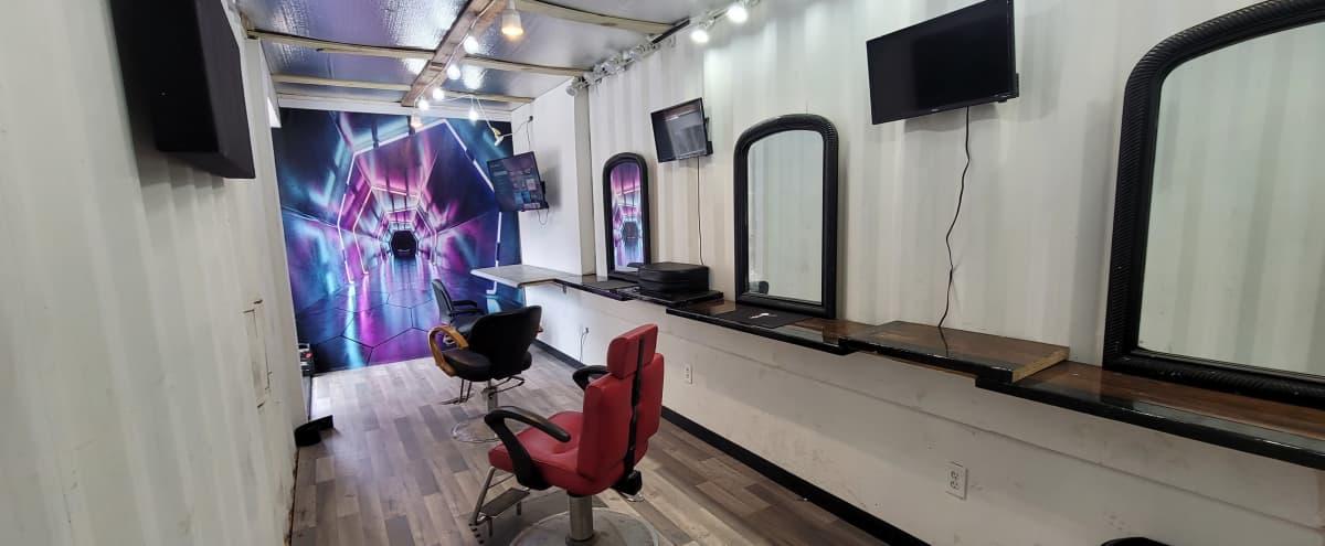 In City Prep Area : Barbershop / Makeup Artist / Stylist Chairs in Atlanta Hero Image in English Avenue, Atlanta, GA