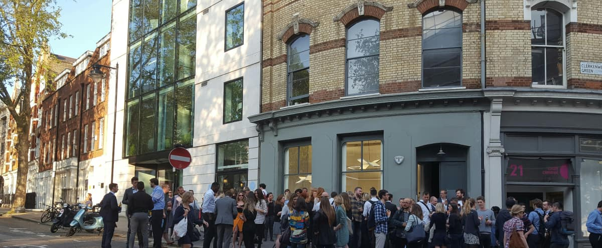 A London brilliant multipurpose venue perfect for Events in London Hero Image in Clerkenwell, London,