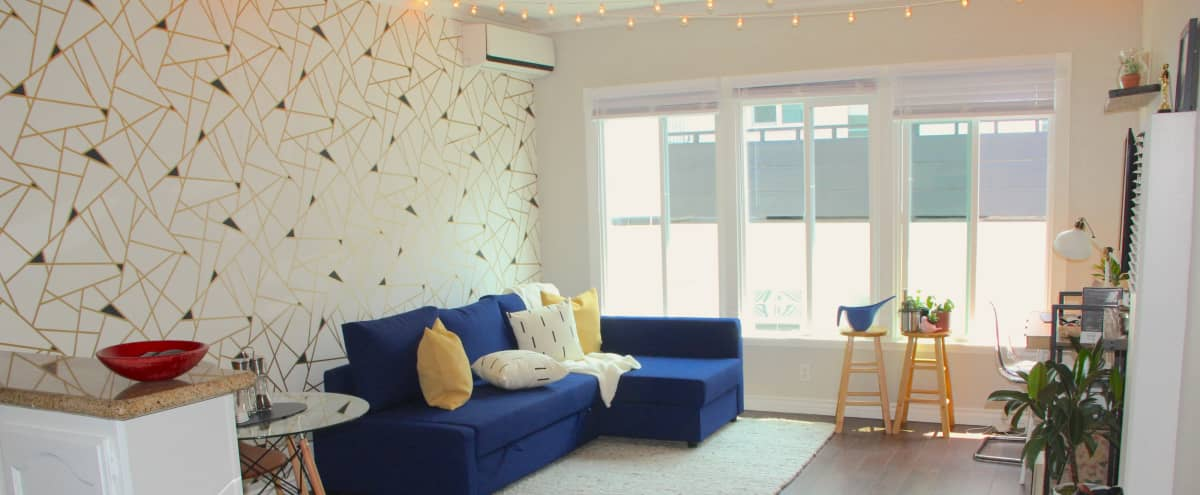 Cute & Stylish Apartment with Bright Daylight in Los Angeles Hero Image in Hollywood, Los Angeles, CA