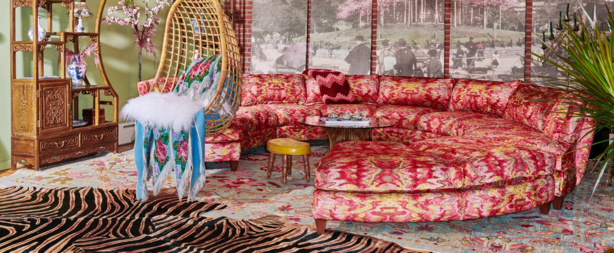 Eclectic Loft Filled with 1 of a Kind Pieces of Furniture, Art and Antiques in Brooklyn Hero Image in Greenpoint, Brooklyn, NY