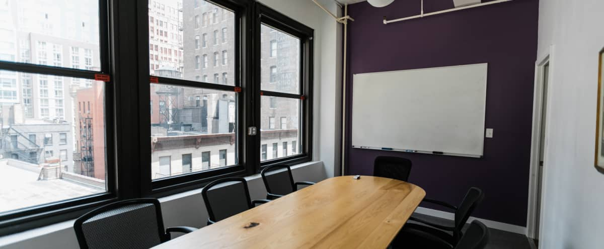 8-10 Person Private Conference/Classroom (#15) in New York Hero Image in Midtown, New York, NY