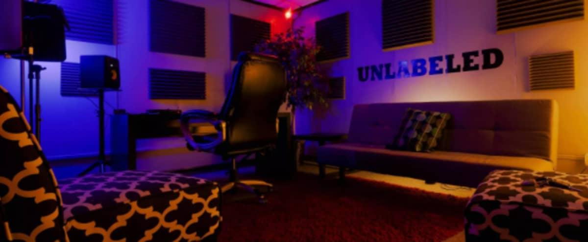 Soundproof Music Production & Livestream Studio C in Kansas City Hero Image in Midtown - Westport, Kansas City, MO