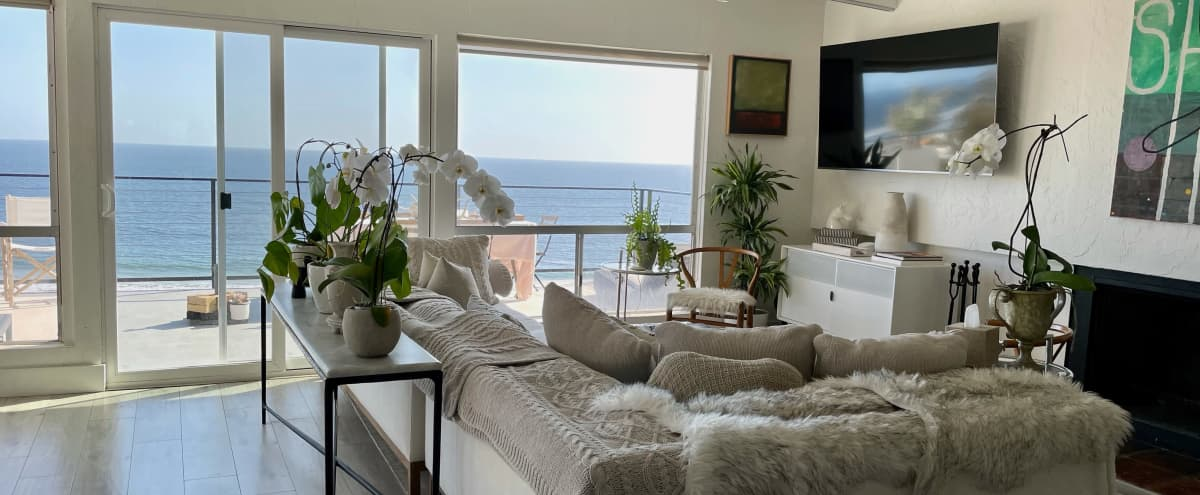 Stylish Townhome In Western Malibu With Sweeping Ocean Views On A Bluff Across From The Beach in Malibu Hero Image in Western Malibu, Malibu, CA